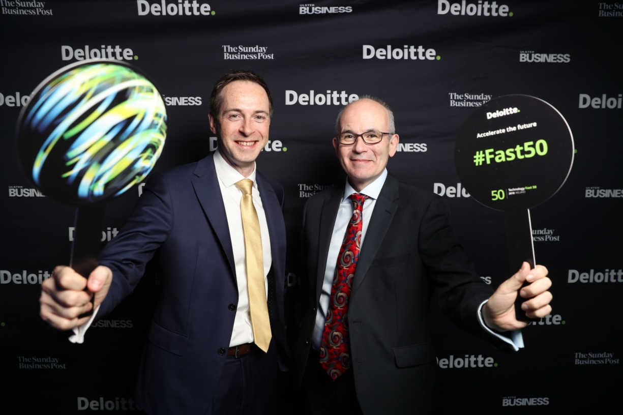 David Shanahan, Deloitte and Andrew Logan, Kelsius